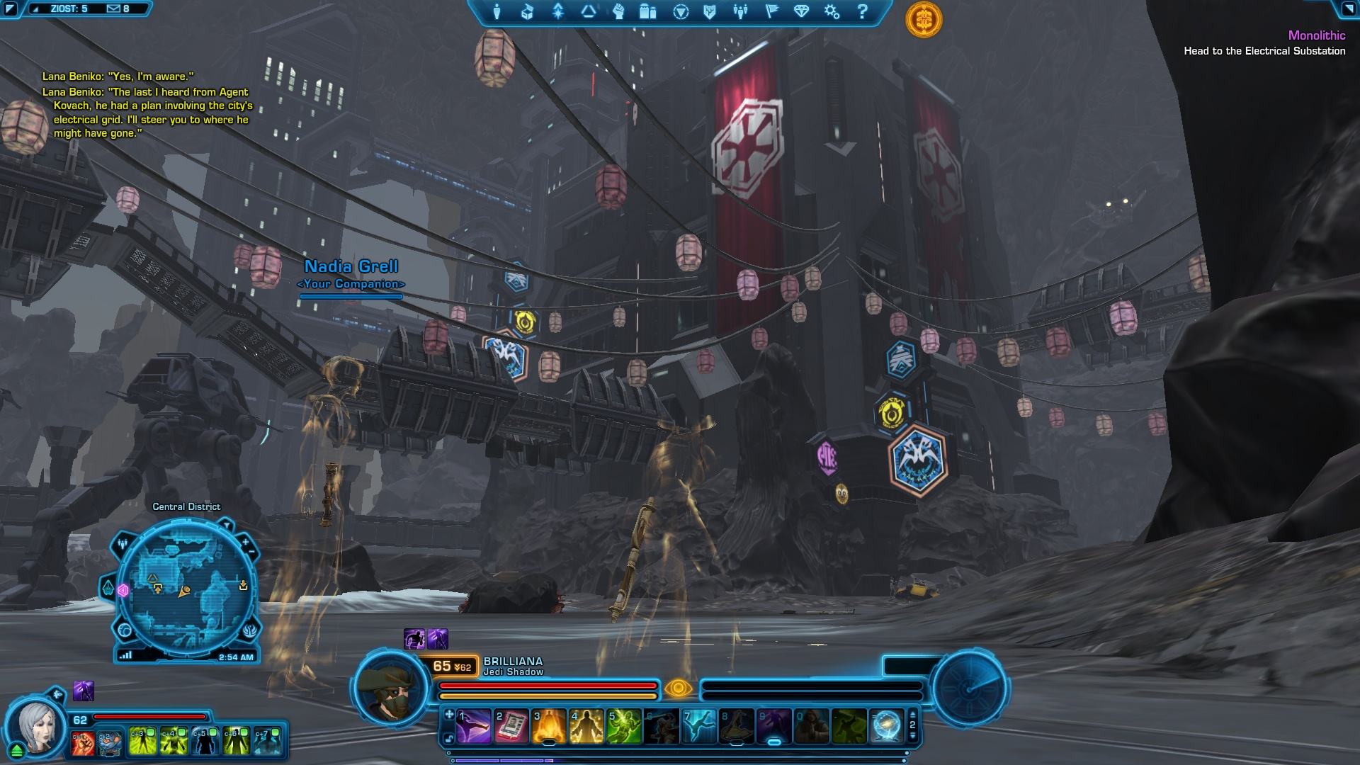 swtor how to start knights of the fallen empire