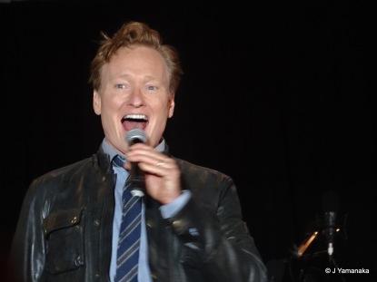 Conan O'Brien, the host of the evening.