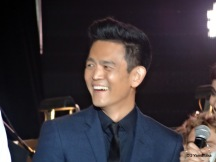 John Cho. He moves around too much for a good photo. Must be all that dubsmashing.
