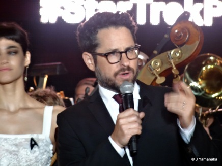 J.J. Abrams. Whatever you may think of his movies, he throws some good parties.