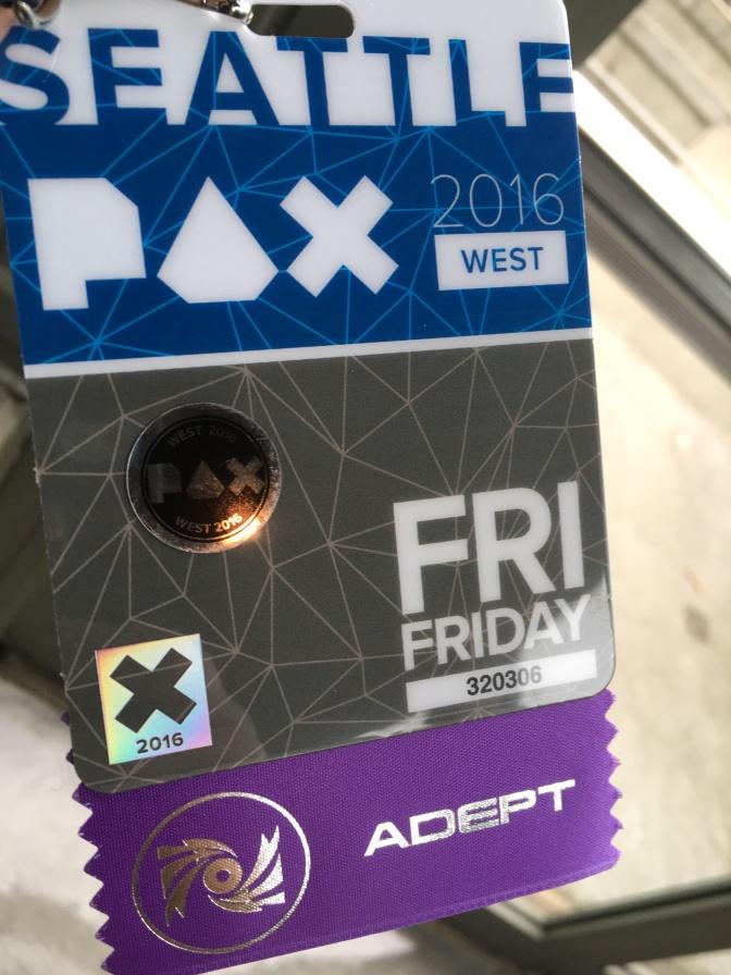 PAX West 2016:  Recap